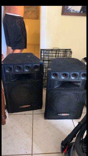 """Speakers price for both 12"""" 450 WATTS each for Sale in Lake Worth, FL"""