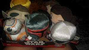 Set of 12 funko collectibles starwars plushies brand new for Sale in Bakersfield, CA