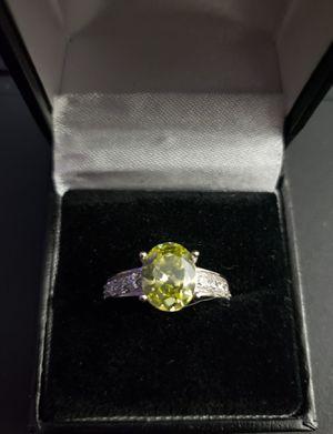 Peridot Sterling Silver Women Ring for Sale in Marietta, GA