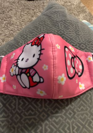 Face mask For kids hello kitty $7 for Sale in Miami, FL