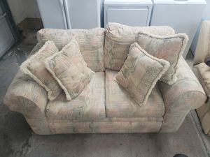 Beige Love Seat for Sale in Locust Grove, GA