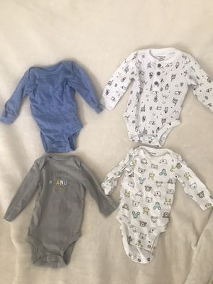 Carters 3 month baby boy onesies bundle for Sale in Fresno, CA