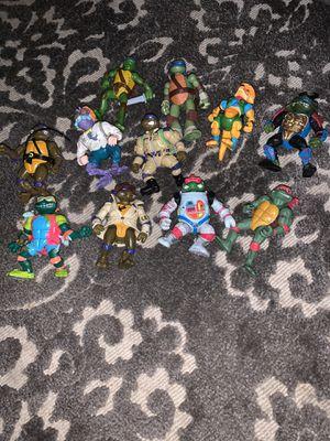 Tmnt ninja turtles bundle for Sale in Stoughton, MA