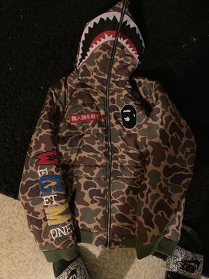 Bape coat size L for Sale in Rankin, PA