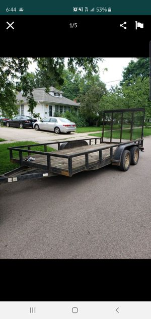 2005 16x6.5 ft trailer for Sale in McHenry, IL