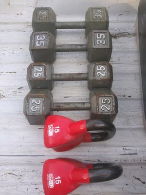 Dumbbells..weigths. for Sale in Houston, TX