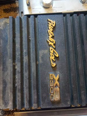 Old school gold amps crossovers DVD Units for Sale in Englewood, CO