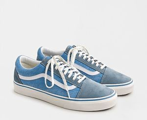 Vans X J.Crew Old Skool - Suede and Corduroy - 9 for Sale in North Andover, MA