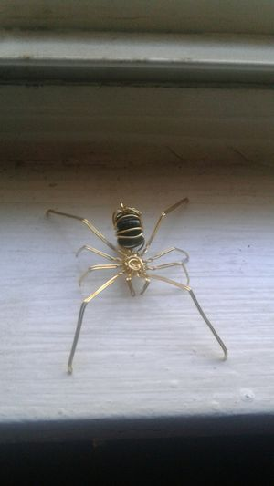 Hand made gold wire spider for Sale in Chicago, IL
