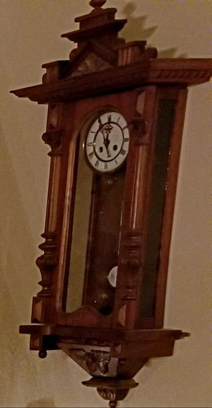 Antique pendulum wall clock for Sale in Columbia Station, OH