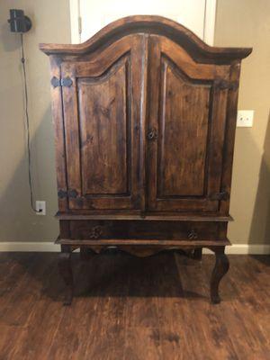 Beautiful Solid Wood Armoire for Sale in Phoenix, AZ