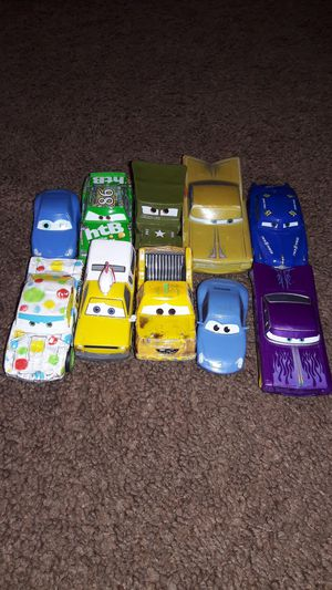 Disney Cars Lot Of 10 for Sale in Patterson, CA