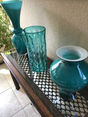 Glass vases for Sale in Byron, CA