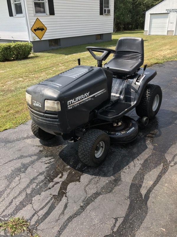 "42"" tractor mower 17hp"