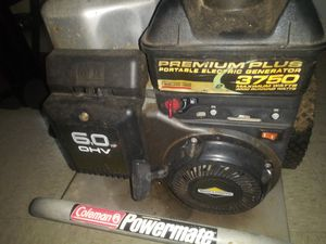 Coleman 3750 generator for Sale in Baltimore, MD
