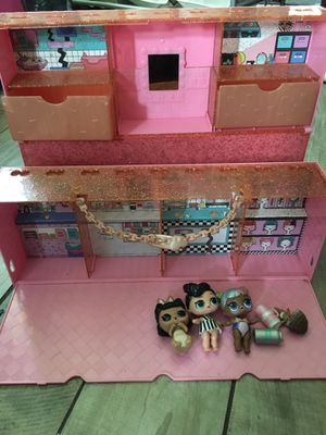 LOL display case play house for Sale in Whittier, CA