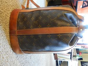 Louis Vuitton Drawstring Leather Bag/Purse/Backpack for Sale in Denver, CO