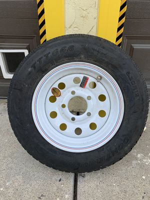 Trailer Tire 5 lug never used. for Sale in San Diego, CA
