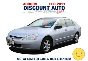 2004 Honda Accord Sdn for Sale in Auburn, WA