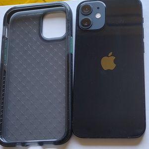 Apple iPhone 12 mini 64GB T-Mobile 5G Smartphone w/ TECH21 Phone Case for Sale in Seattle, WA
