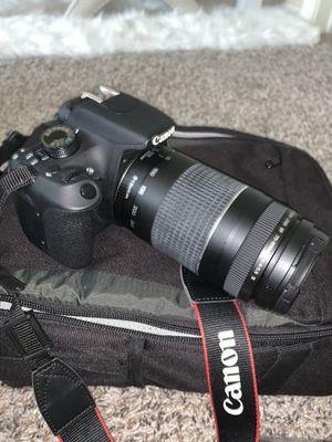 Canon eos rebel T5 eos1200 D for Sale in Grand Prairie, TX