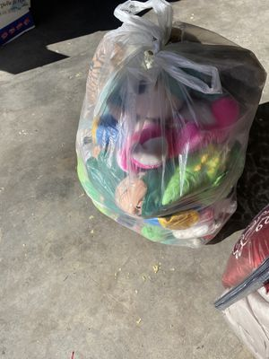 Large bag of stuffed Animals for Sale in Albuquerque, NM
