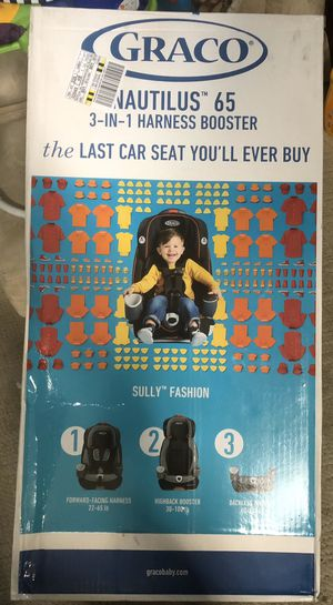 BRAND NEW IN BOX Graco Nautilus 65 3 in 1 Car Seat Harness Booster for Sale in Everett, WA