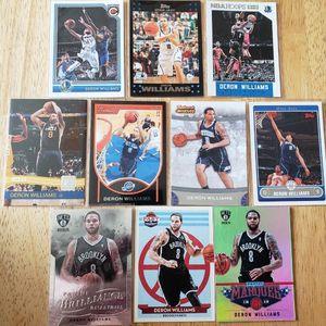 Deron Williams Jazz Nets NBA basketball cards for Sale in Gresham, OR