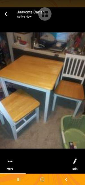 3 piece kitchen set excellent condition for Sale in Mitchell, IL