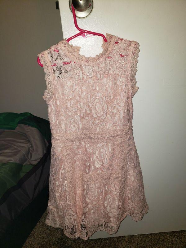 Girls beautee dress size 7