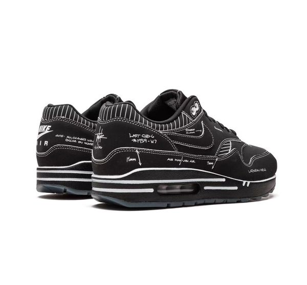Black And White Nike Sneakers Sketch To Self Limited Edition Tinker Hartfield