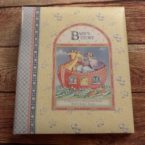 C.R. Gibson BABY'S STORY Record Book and photo album- Cathy Heck, artist - 1996 - unused for Sale in National City, CA