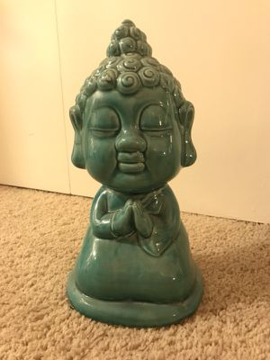 Tranquil ceramic Buddha accent piece/ decorative item for Sale in Los Angeles, CA