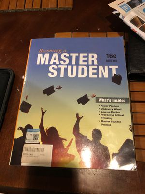 College book - becoming a master student 16th edition for Sale in Corona, CA