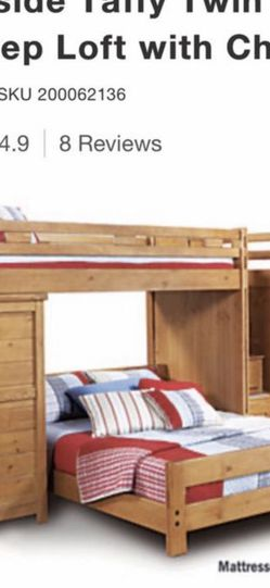 Kids bedroom set With Stairs And Chest for Sale in Warren,  MI