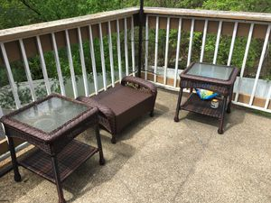 5 piece high end patio furniture set for Sale in Aspen Hill, MD