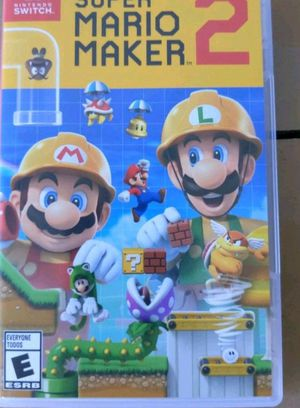 Super Mario Maker 2 for Sale or Trade for Sale in Dedham, MA