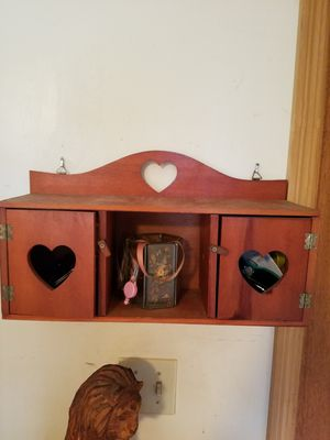 Cupboard and wall box shelf for Sale in South Attleboro, MA