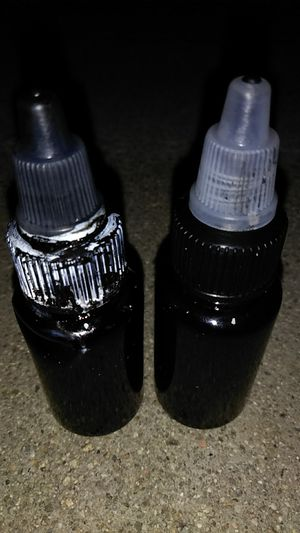 TWO FULL Bottles Black INK TINTA for Sale in Stanton, CA