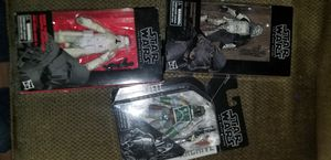 Star wars black series boba fett and troopers for Sale in Austin, TX