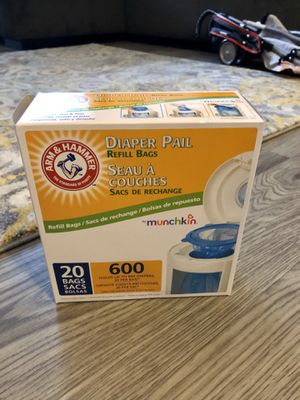 Diaper pail refill bags for Sale in Carrollton, TX