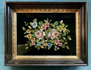 Antique Reverse Glass Painting for Sale in Portland, OR