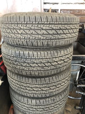 4 tires 225/70/r15 Firestone 10/32 tread for Sale in Oceanside, CA