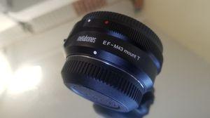 Metabones EF - M43 mount T adapter for Sale in Los Angeles, CA