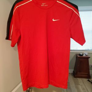 Mens Red/black Nike Dri-Fit Running Shirt for Sale in Traverse City, MI