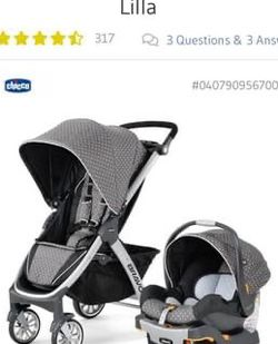 Chicco - Bravo Stroller Trio System (Does not include Infant Car Base And Tray) for Sale in Queens,  NY