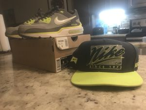 Nike LTD Volt with matching SnapBack for Sale in Houston, TX