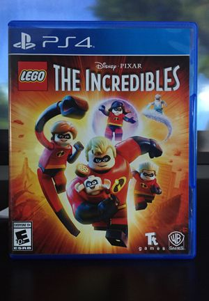 The incredibles LEGO PS4 for Sale in Los Angeles, CA