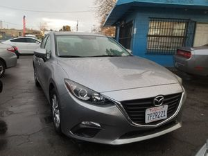 2016 MAZDA 3 I AUTOMATIC TRANSMISSION. LOW MILLAGE for Sale in Modesto, CA