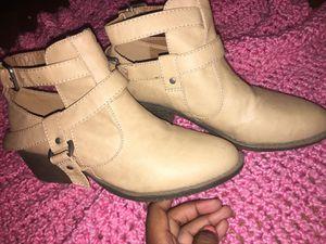 Tan Booties for Sale in El Dorado, AR